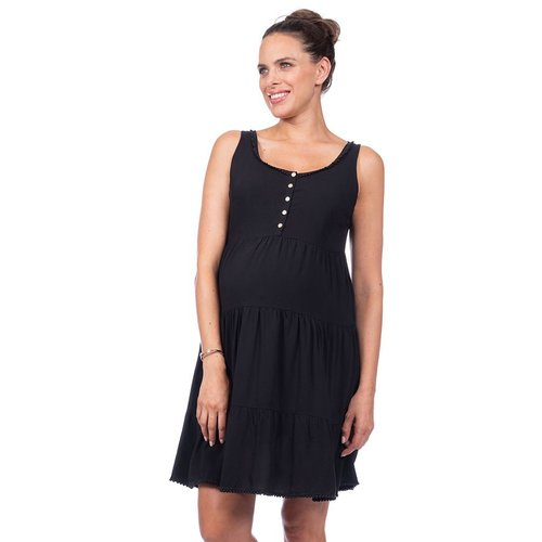 Seraphine Victoria Tiered Maternity Dress