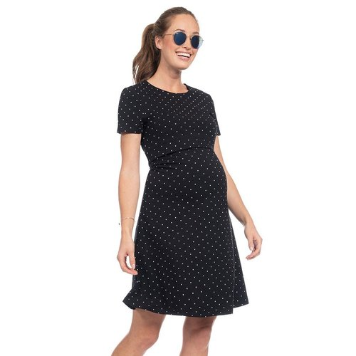Seraphine Cheshire Dot Nursing Dress