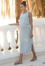 Seraphine Claudette Midi Nursing Dress