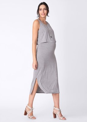 Seraphine Claudette Midi Nursing Dress