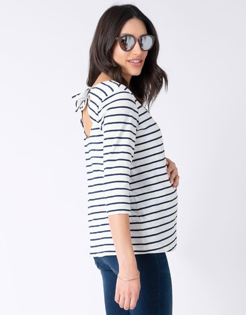 Seraphine Genesis Open Back Maternity Top