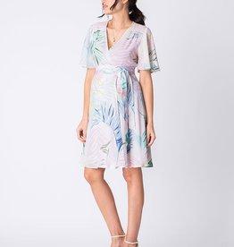 Seraphine Josie Fluted Sleeve Wrap Dress