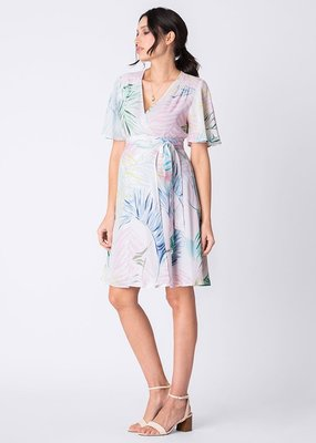 Seraphine Josie Fluted Sleeve Wrap Dress