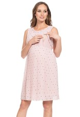 Seraphine Kimmy Pleated Maternity & Nursing Dress