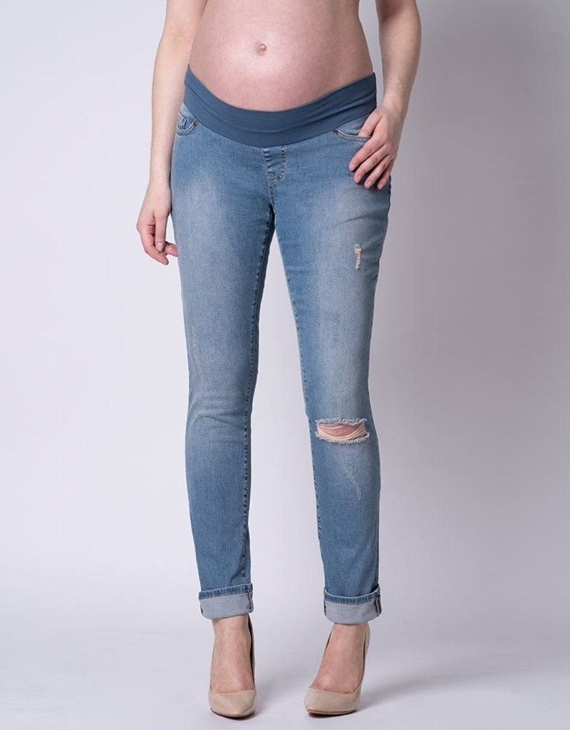 Seraphine Xavier Relaxed Fit Ripped Jean