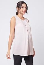 Seraphine Margot Semi-Sheer Maternity & Nursing Top