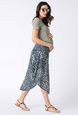 Seraphine Boho Print Midi Maternity Skirt