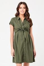 Ripe Colette Tie Up Maternity Dress