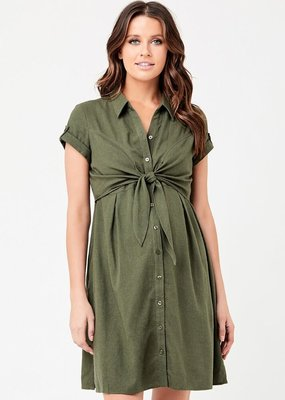 Ripe Colette Tie Up Maternity Dress