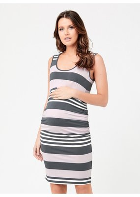 Ripe Stripe Nursing Tube Dress