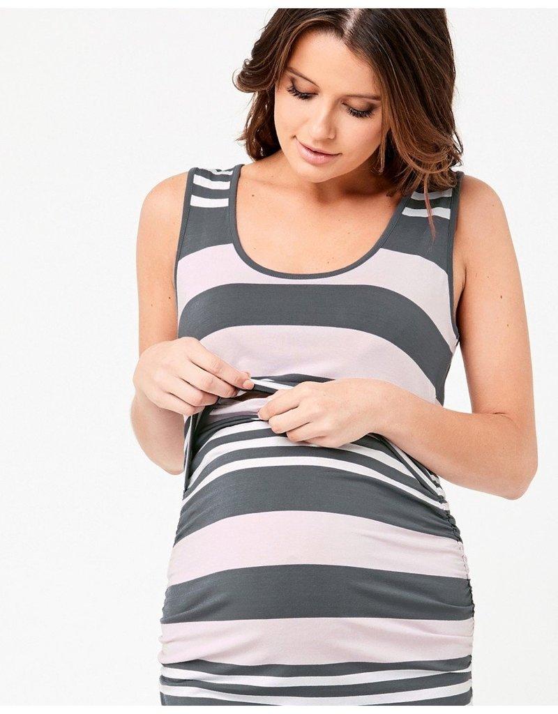 Ripe Stripe Nursing Tube Dress