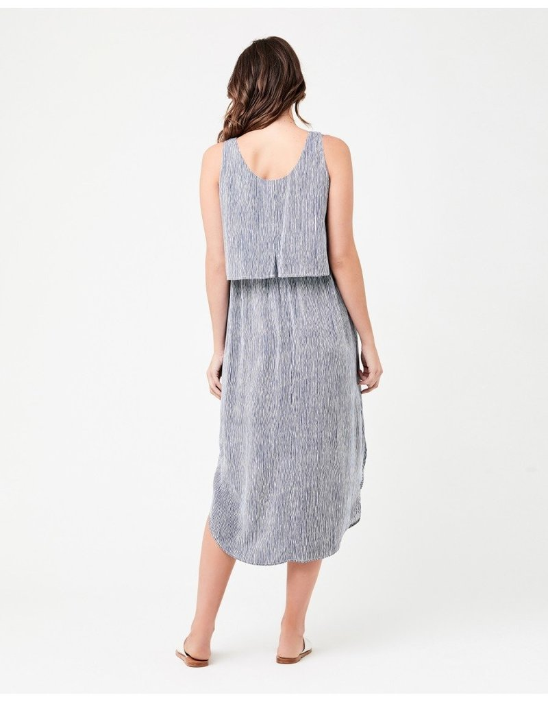 Ripe Stella Stripe Nursing Dress