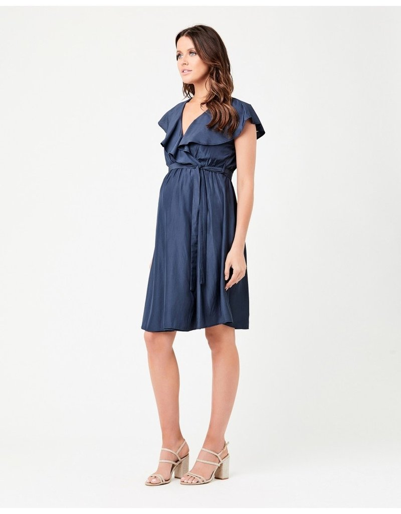 Ripe Frill Wrap Nursing Dress