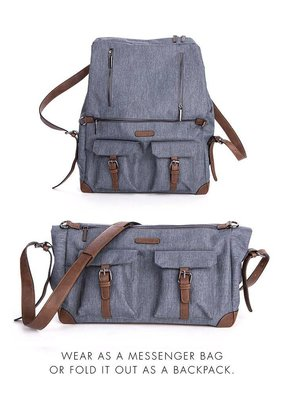 Seraphine Lorenz Satchel Rucksack Changing bag