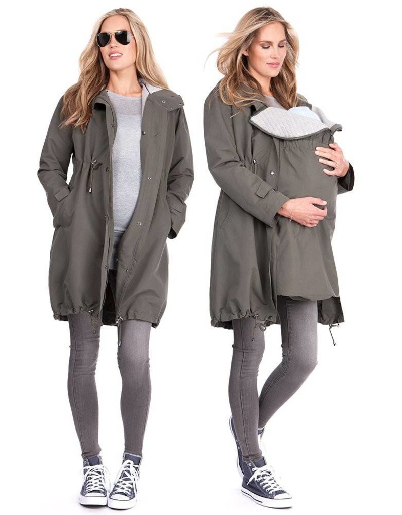 e6cb4ac198e13 Maternity Jacket - Seraphine 3 in 1 Parka - GlowMama Maternity Wear