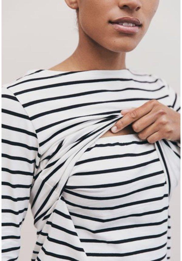 Simone Long-Sleeved Nursing Top