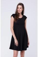 Ripe Textured Skater Dress