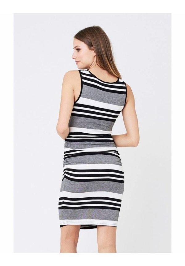 Stripe Nursing Tube Dress