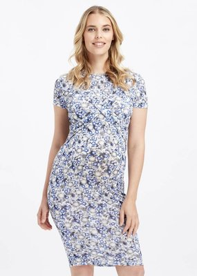 Glow Mama Zoe Bodycon Maternity Dress - Size XL