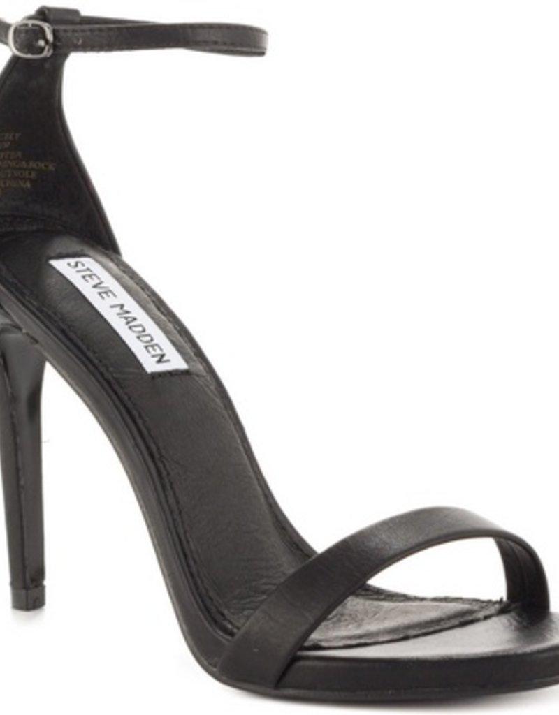 Black Stecy Heel