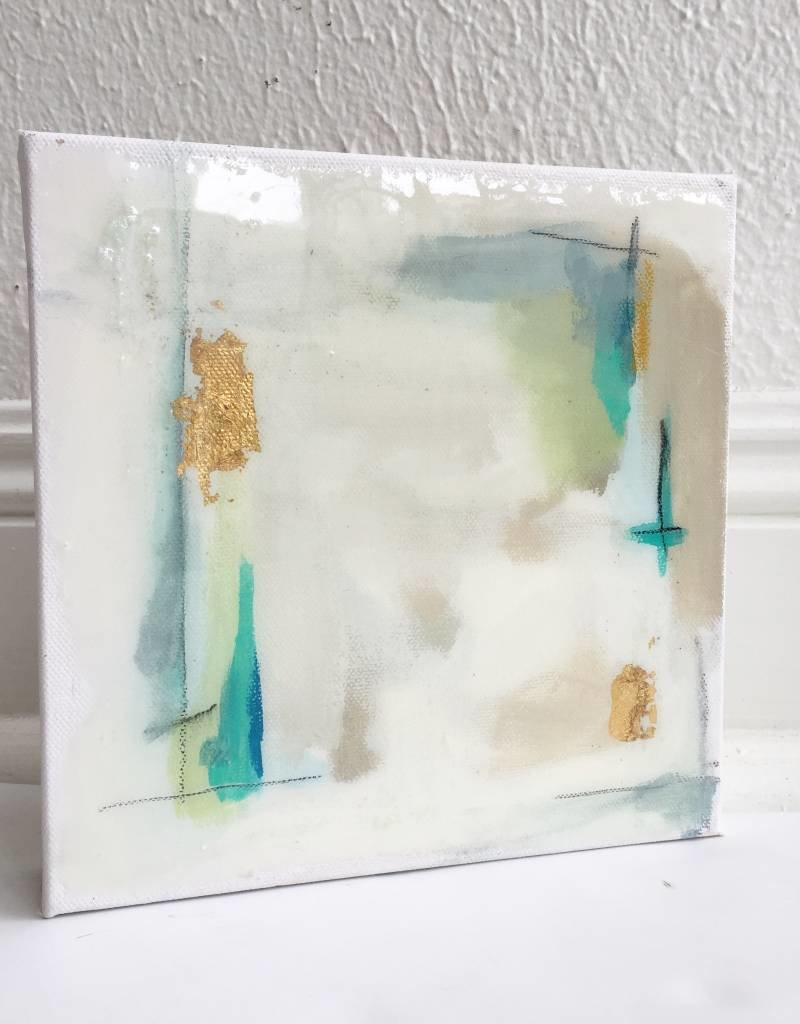 8x8 Green/Blue Abstract