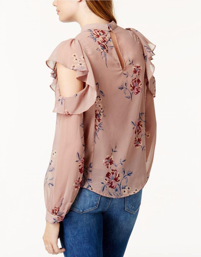 Chantelle Top- Mauve Floral