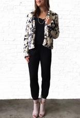 Marbled Fur Jacket