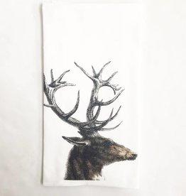 Deer Antlers Towel