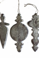Silver Chandelier Ornaments