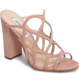 Honeycomb Blush Block Heel