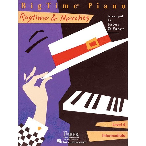 Hal Leonard BigTime Piano - Ragtime & Marches Level 4