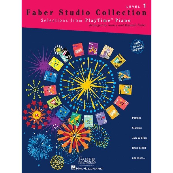 Hal Leonard Faber Studio Collection - PlayTime Piano Level 1
