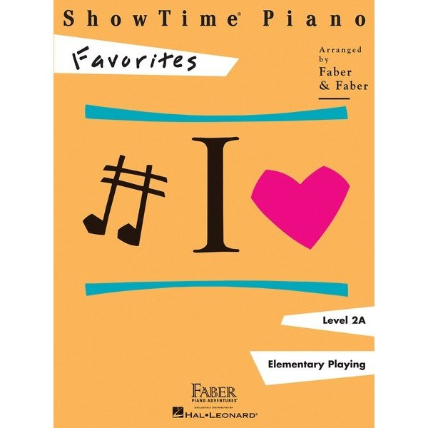 Hal Leonard ShowTime Piano - Favorites Level 2A