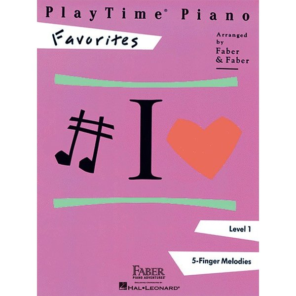 Hal Leonard PlayTime Piano - Favorites Level 1