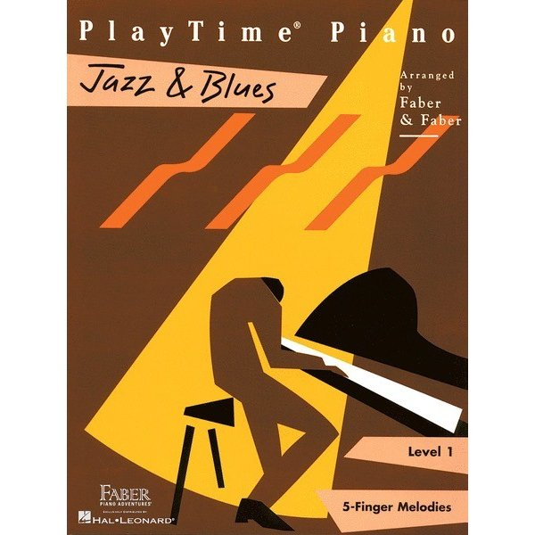 Hal Leonard PlayTime Piano - Jazz & Blues Level 1