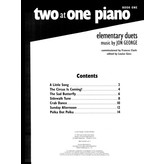 Alfred Music Two at One Piano, Book 1