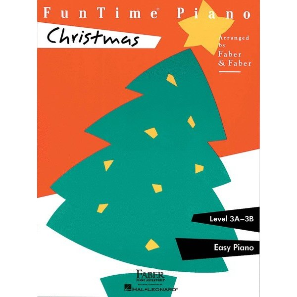Faber Piano Adventures FunTime Piano - Christmas Level 3A-3B
