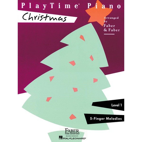 Faber Piano Adventures PlayTime Piano - Christmas Level 1