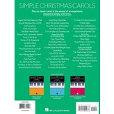 Hal Leonard Simple Christmas Carols - The Easiest Easy Piano Songs