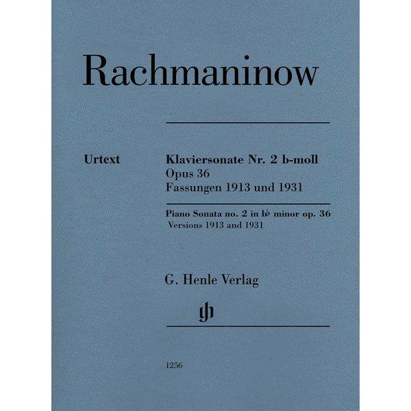 Henle Urtext Editions Rachmaninoff - Piano Sonata No. 2 Op. 36 B-Flat Minor