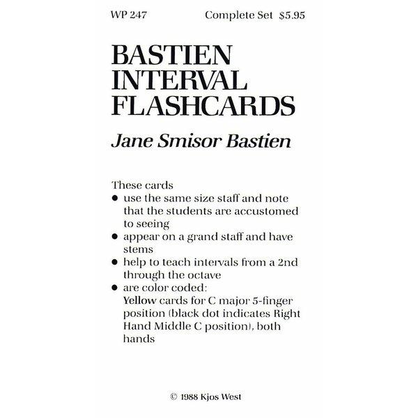 Bastien Piano Bastien Interval Flashcards