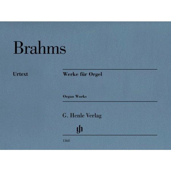 Henle Urtext Editions Brahms - Werke für Orgel