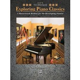 Alfred Music Exploring Piano Classics Technique, Level 6