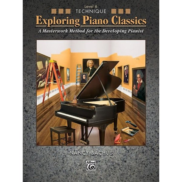 Alfred Music Exploring Piano Classics Technique, Level 6