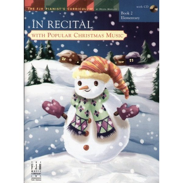 FJH In Recital with Popular Christmas Music, Book 2