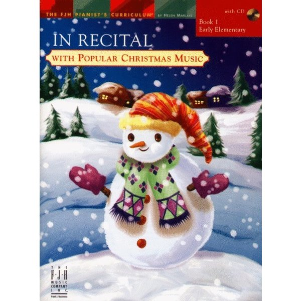 FJH In Recital with Popular Christmas Music, Book 1