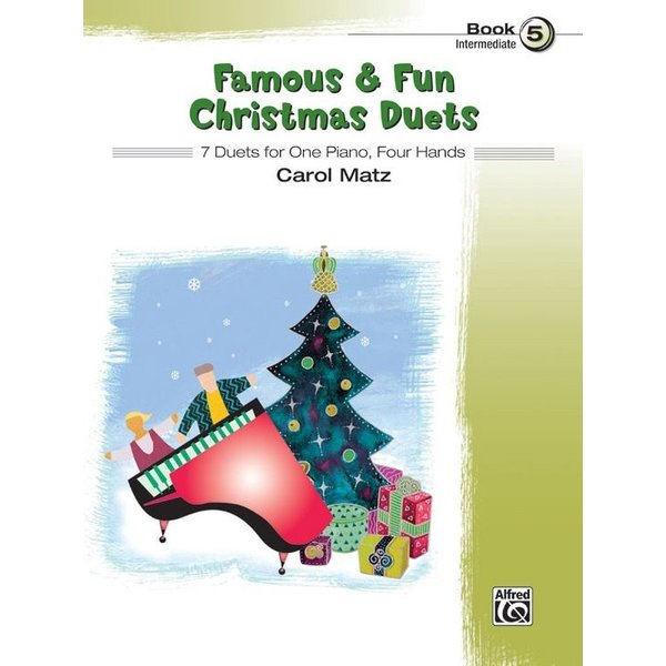Alfred Music Famous & Fun Christmas Duets, Book 5