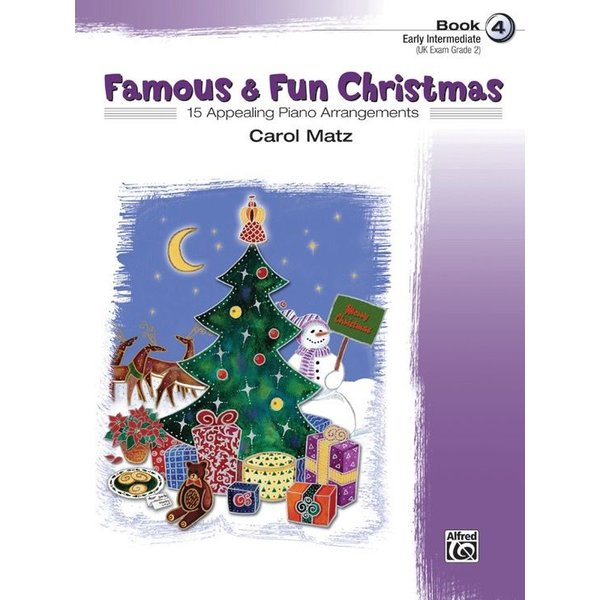 Alfred Music Famous & Fun Christmas, Book 4
