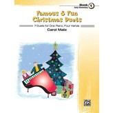 Alfred Music Famous & Fun Christmas Duets, Book 1