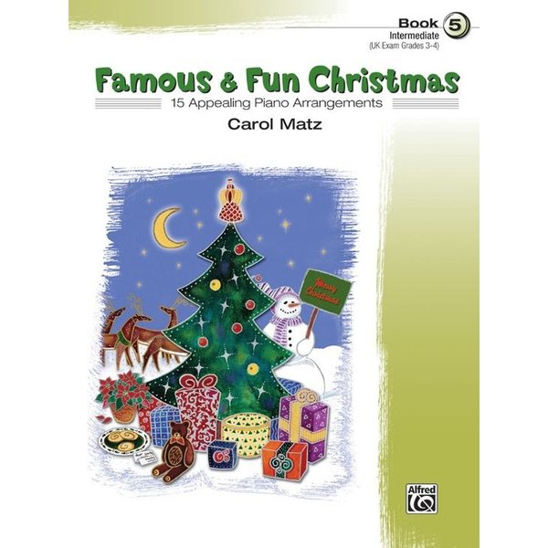 Alfred Music Famous & Fun Christmas, Book 5